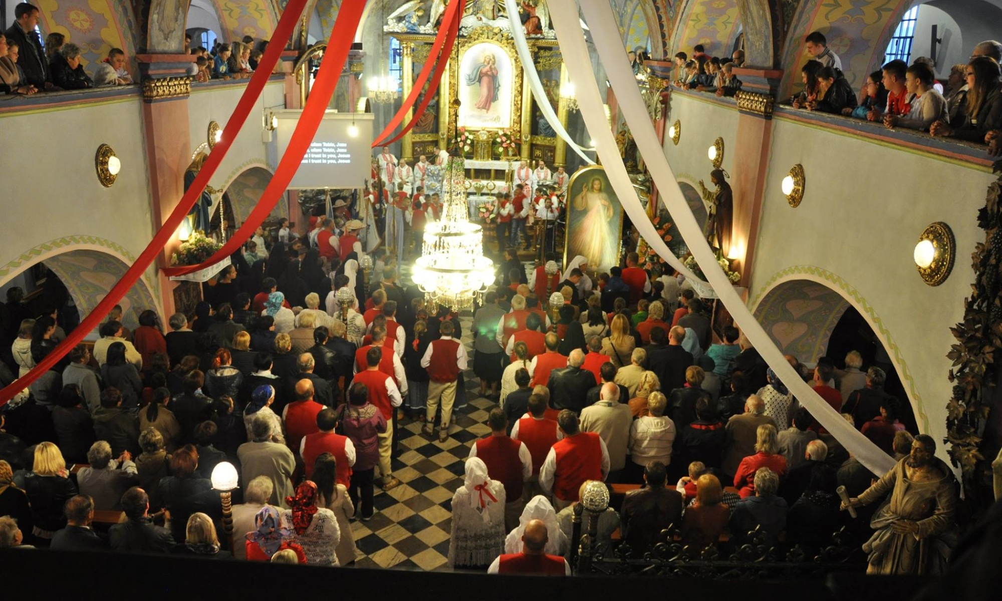 Peregrynacja Obrazu Pana Jezusa Miłosiernego oraz relikwii Św. Jana Pawła II i Św. Faustyny Kowalskiej